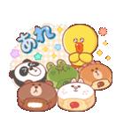 BROWN & FRIENDS : 幸せな食べ物(個別スタンプ:7)