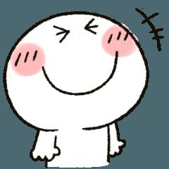 [LINEスタンプ] まるぴ★LINE公認コラボの画像(メイン)
