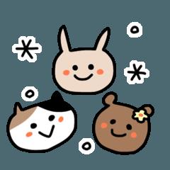 [LINEスタンプ] ずずうさぎ2