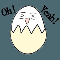 [LINEスタンプ] 愉快な卵