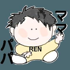 [LINEスタンプ] RENくんのスタンプ1
