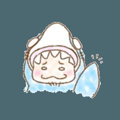[LINEスタンプ] こむの着ぐるみ総集編①