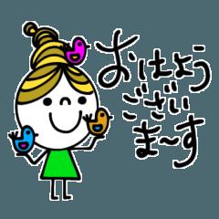 [LINEスタンプ] mottoの団子さん♡敬語