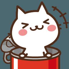 [LINEスタンプ] ねこの缶詰め×LINEスタンプの日