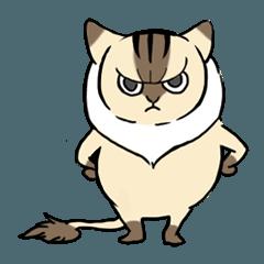 [LINEスタンプ] 少年猫ぷちはかわいい