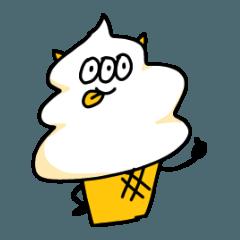 [LINEスタンプ] アイスクリームモンスタースタンプ