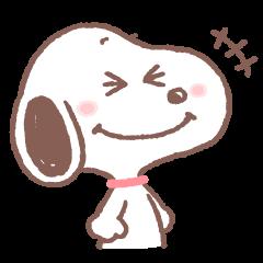 [LINEスタンプ] 【スタンプの日】スヌーピー