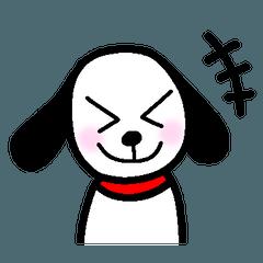 [LINEスタンプ] 犬のひじき~デフォルト