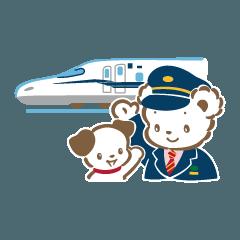 [LINEスタンプ] 旅するファミちゃんとなかまたち