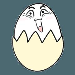[LINEスタンプ] おもしろい卵