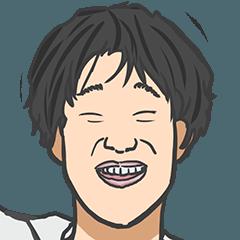 [LINEスタンプ] ムカつくけど憎めないアイツの変顔スタンプ