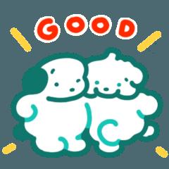 [LINEスタンプ] シンプルかわいい!ココモとスモア