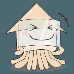 [LINEスタンプ] 【スタンプの日】関西イカ連盟