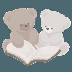 [LINEスタンプ] 【アプレレクール】 tiny bear